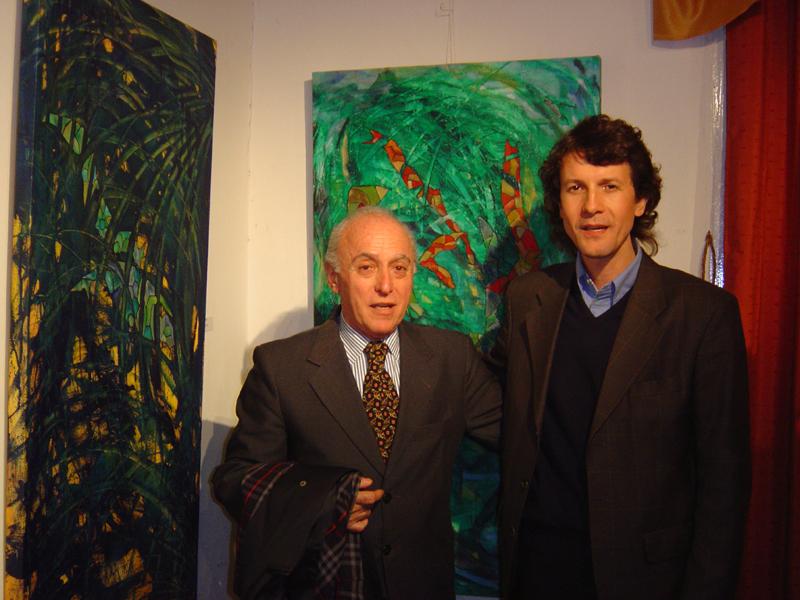 """""""Galería Loft Espacio Alfa"""" 2004."""