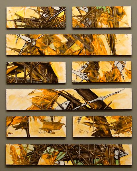 40 X 50 cm. acrílico sobre madera. 2007.