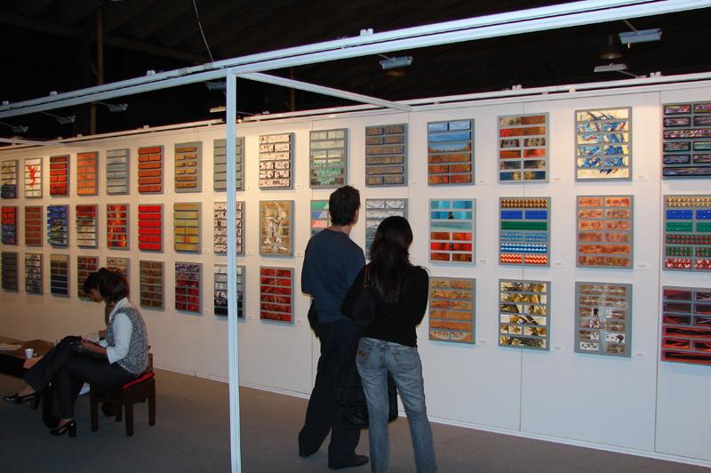 Los Artistas y el IChing - Galería Paradiso - Expotrastiendas 2007
